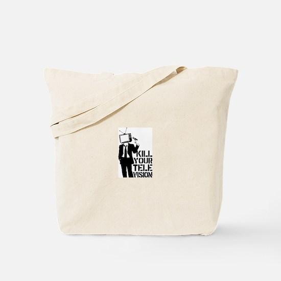 Kill Your Television Tote Bag