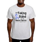 Stand Stomach Cancer Light T-Shirt