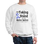 Stand Stomach Cancer Sweatshirt