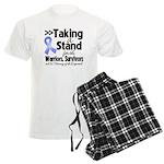 Stand Stomach Cancer Men's Light Pajamas