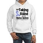 Stand Stomach Cancer Hooded Sweatshirt