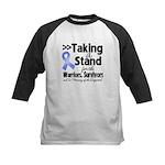 Stand Stomach Cancer Kids Baseball Jersey