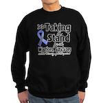 Stand Stomach Cancer Sweatshirt (dark)