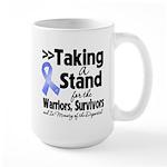 Stand Stomach Cancer Large Mug