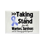 Stand Stomach Cancer Rectangle Magnet