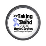 Stand Stomach Cancer Wall Clock
