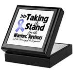 Stand Stomach Cancer Keepsake Box