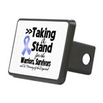Stand Stomach Cancer Rectangular Hitch Cover