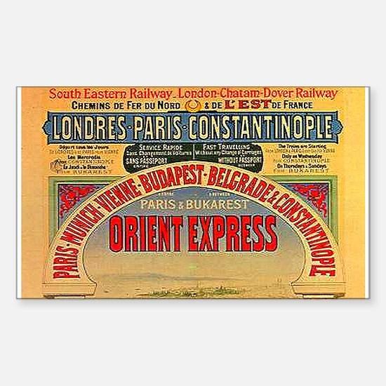 Orient Express Sticker (Rectangle 10 pk)