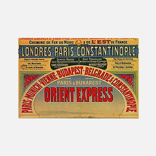 Orient Express Rectangle Magnet (10 pack)