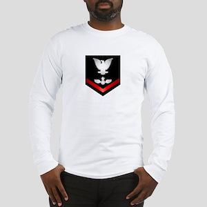 Navy PO3 Aviation Ordnanceman Long Sleeve T-Shirt