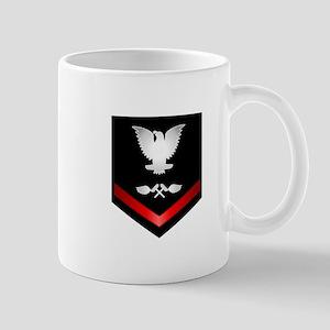 Navy PO3 Aviation Structure Mechanic Mug
