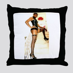 FemDom Power Throw Pillow
