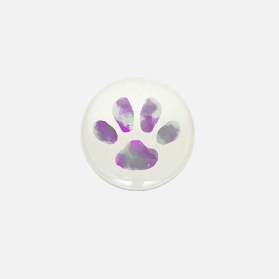 Unique Paw Mini Button