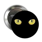 "Amber Cat Eyes 2.25"" Button (100 pack)"