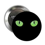 "Green Cat Eyes 2.25"" Button (10 pack)"