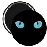 Blue Cat Eyes Magnet