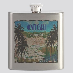 monte carlow monaco illustration Flask
