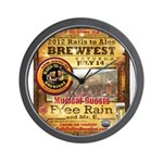2012 Rails to Ales Brewfest Wall Clock