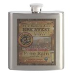 2012 Rails to Ales Brewfest Flask