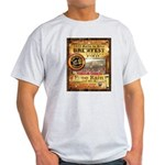 2012 Rails to Ales Brewfest Light T-Shirt
