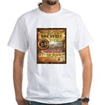 2012 Rails to Ales Brewfest White T-Shirt