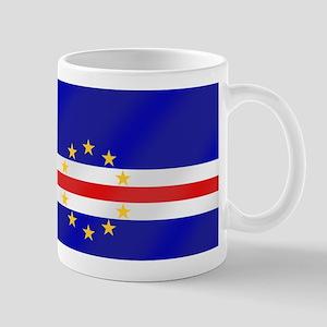 Cabo Verde Flag 11 oz Ceramic Mug