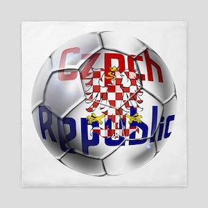 Czech Republic Football Queen Duvet