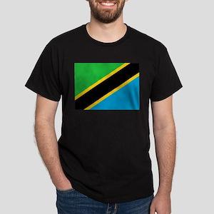 Flag of Tanzania Dark T-Shirt