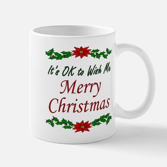 """""""Merry Christmas!"""" Mug"""