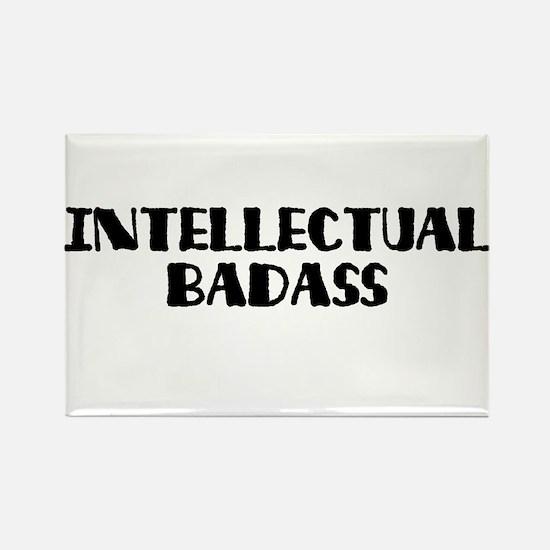 Intellectual Badass Rectangle Magnet