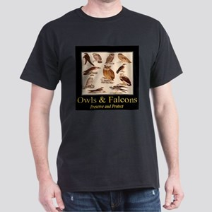Owls & Falcons Dark T-Shirt