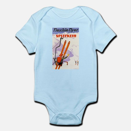 U.S. Travel Poster 3 Infant Bodysuit