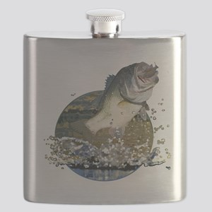 Largemouth Bass Flask
