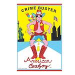 CRIME BUSTER(American Cowboy) Postcards (8)