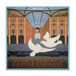 Travel Poster, Milan Tile Coaster