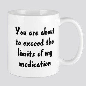 You are about to exceed the limits Mug