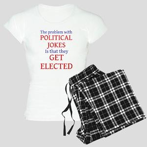 Problem with political jokes Women's Light Pajamas