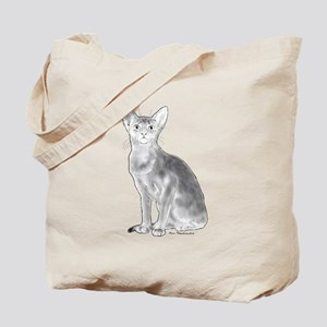 Black and White Aby Tote Bag