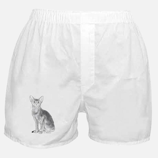 Black and White Aby Boxer Shorts