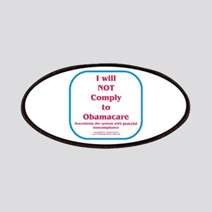 I will NOT comply to Obamacare RWB Patches