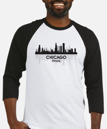 Chicago Skyline Baseball Jersey