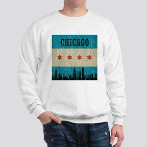 Vintage Chicago Skyline Sweatshirt