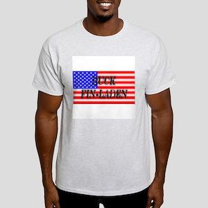 """""""Buck Fin-Laden"""" Ash Grey T-Shirt"""