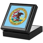 Illinois State Seal Keepsake Box