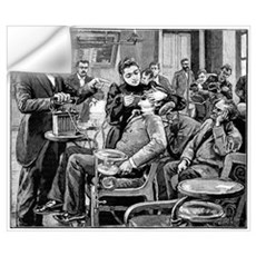 Dental surgery, 19th century Wall Decal