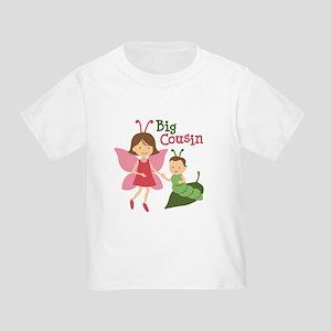 Big Cousin - Butterfly Toddler T-Shirt