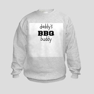 Daddys BBQ Buddy Kids Sweatshirt