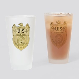 NCIS Special Agent Drinking Glass