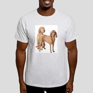 two redbone coonhounds Light T-Shirt